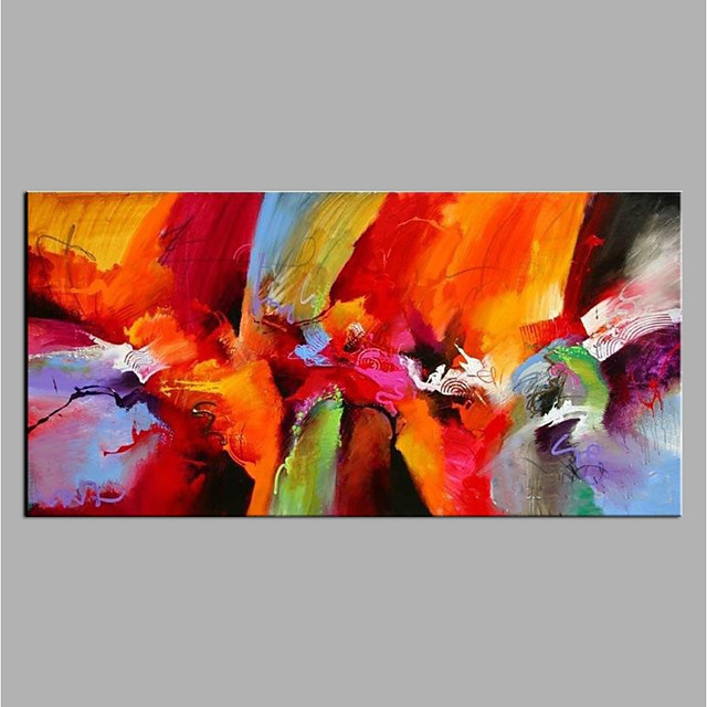 Oil Painting Handmade Hand Painted Wall Art Abstract Home Decoration Décor Rolled Canvas No Frame Unstretched