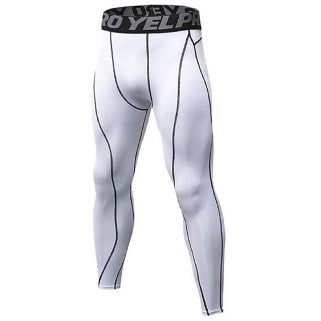 Men Sport Compression Base Layer Pants Quick Dry Sport Running Exercise Leggings