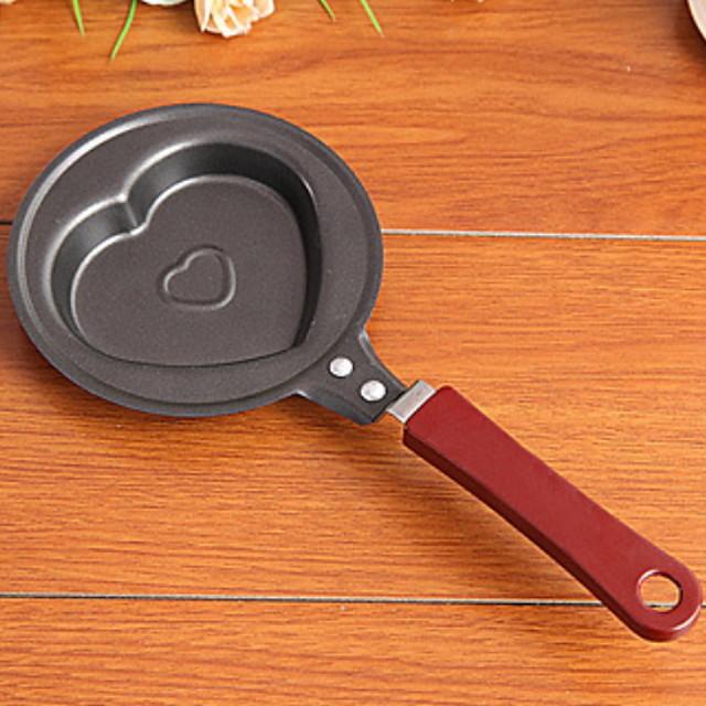 Kitchen Tools Cast Iron Creative Kitchen Gadget Frying Pans & Skillets Egg 1pc