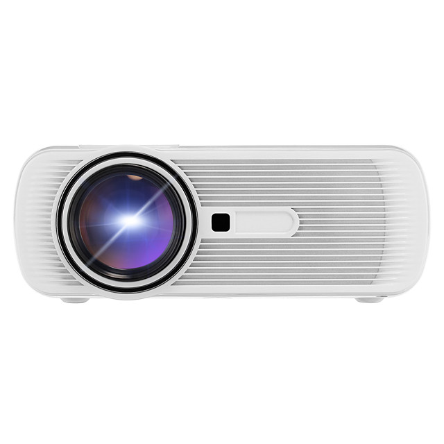 BL80 LCD LED Projector 1500 lm Support 1080P (1920x1080) 30-100 inch / WVGA (800x480) / ±15°