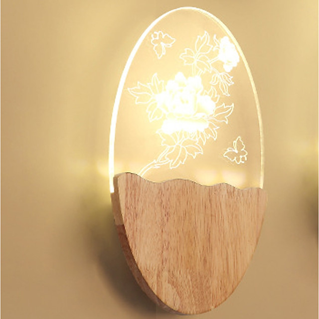Novelty Picture Wall Lights Bedroom / Study Room / Office / Indoor Metal Wall Light 220-240V 8 W / LED Integrated