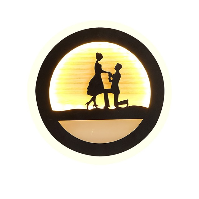 Novelty Picture Wall Lights Bedroom / Study Room / Office / Indoor Metal Wall Light 220-240V 22 W / LED Integrated