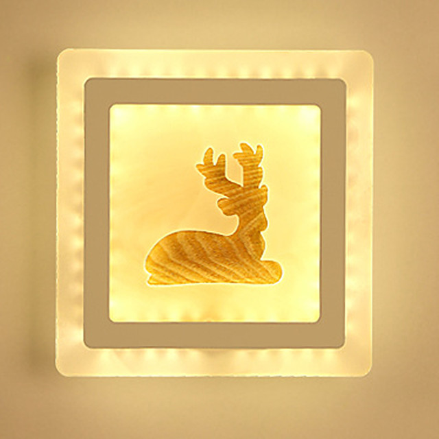 Novelty Picture Wall Lights Bedroom / Study Room / Office / Indoor Metal Wall Light 220-240V 13 W / LED Integrated
