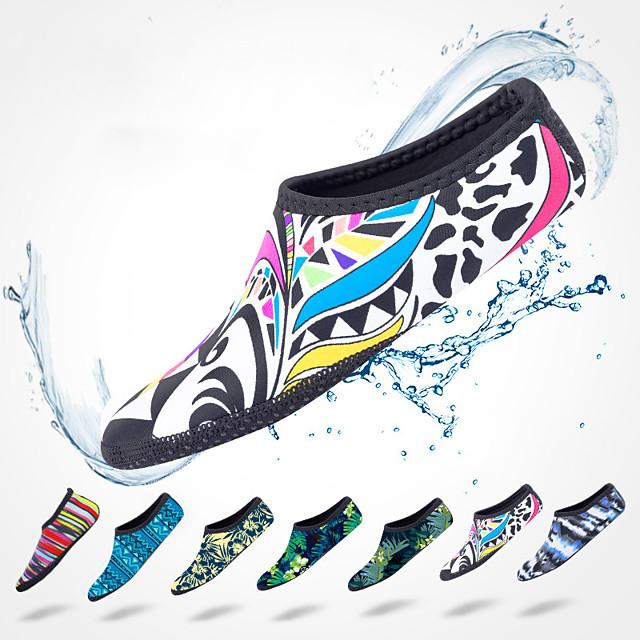 SBART Men's Women's Water Socks Aqua Socks Nylon Neoprene Quick Dry Anti-Slip High Strength Softness Barefoot Yoga Swimming Diving Surfing Snorkeling Boating - for Adults