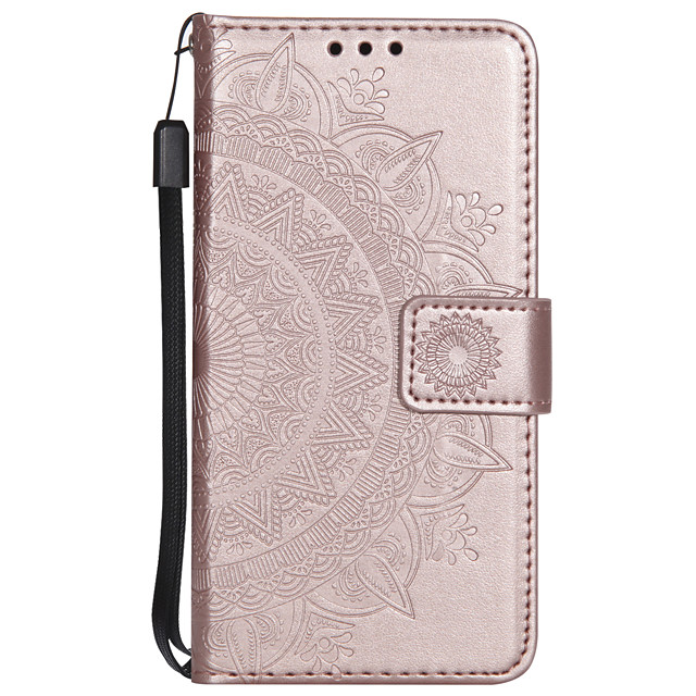 Case For Sony Xperia XA XA1 XA1 ULTRA XA2 XA2 ULTRA XZ XZ1 SONNY1 II SONNY10 II Card Holder Flip Pattern Full Body Cases Flower PU Leather TPU