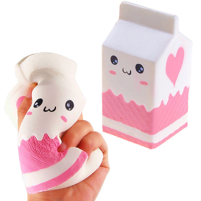 Squishy Squishies Squishy Toy Squeeze Toy / Sensory Toy Jumbo Squishies Stress Reliever Holiday Romance Fantacy Box Sweet Heart Eyes Stress and Anxiety Relief 3D Cartoon Lovely Super Soft Slow Rising