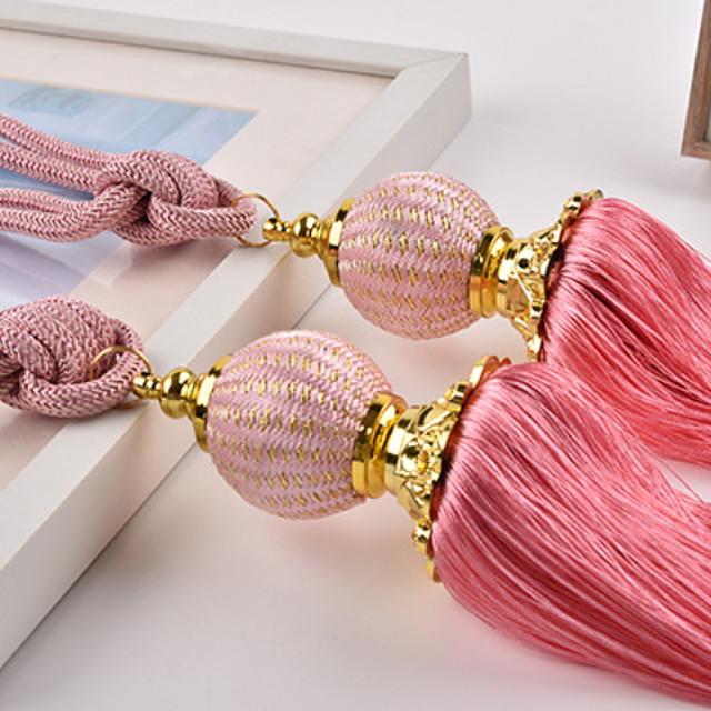 curtain Accessories Rope / Tassel / Tie Back Modern 2 pcs