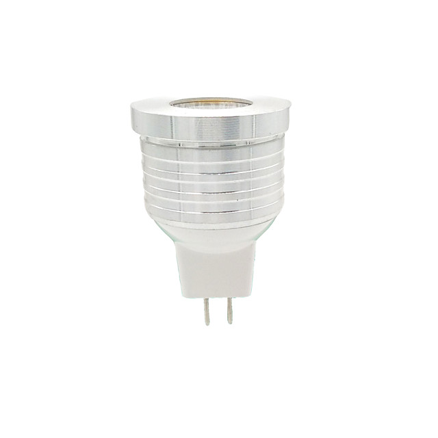 1db 3 W LED szpotlámpák 270 lm MR11 1 LED gyöngyök COB Meleg fehér 12 V
