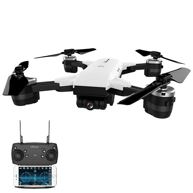 RC Drone JD-20 BNF 4CH 6 Axis 2.4G With HD Camera 2.0MP 720P RC Quadcopter FPV / One Key To Auto-Return / Headless Mode RC Quadcopter /