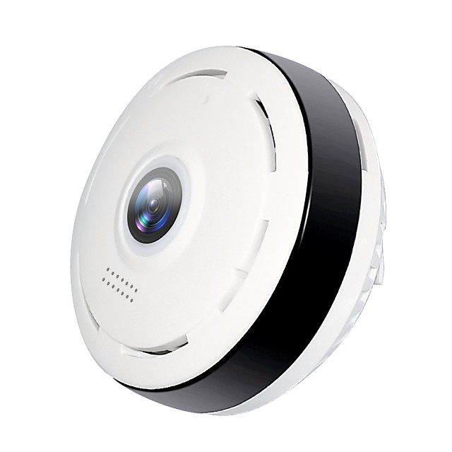 Hiseeu® HD FishEye IP camera 960P 360 Degree Full View Mini CCTV Camera 1.3MP Network Home Security Surveillance WiFi VR Camera Panoramic IR Remote Access Motion Detection Night Vision Monitor