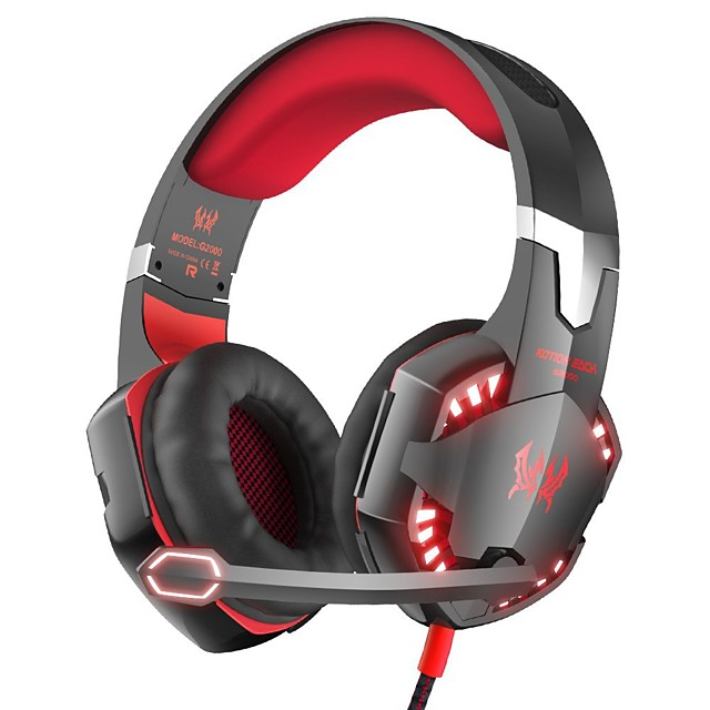 KOTION EACH Gaming Headset Bluetooth 4.2 Stereo with Microphone with Volume Control for Gaming
