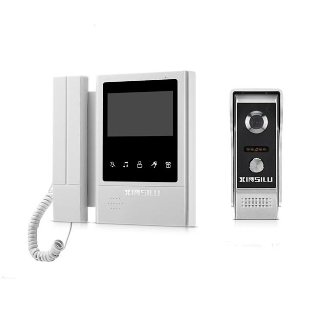 XINSILU® XSL-V43E168 Wired 4.3 inch Telephone / Hands-free 480*272 Pixel One to One Video Doorphone