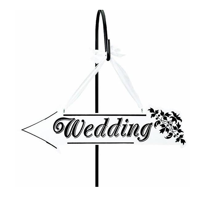 Unique Wedding Décor Wood Wedding Decorations Wedding / Wedding Party Garden Theme / Romance / Wedding All Seasons