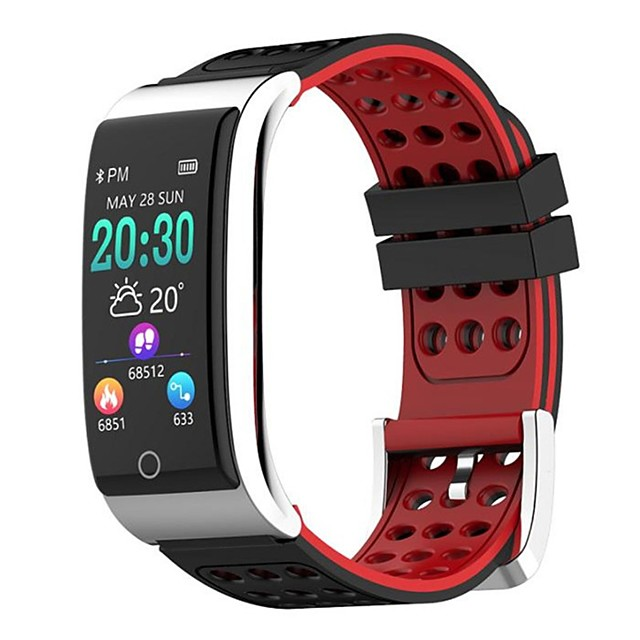 E08 Smart Wristband Bluetooth Fitness Tracker Support Notify/ Heart Rate Monitor Waterproof Sports Smartwatch Compatible Samsung/ Android/iPhone
