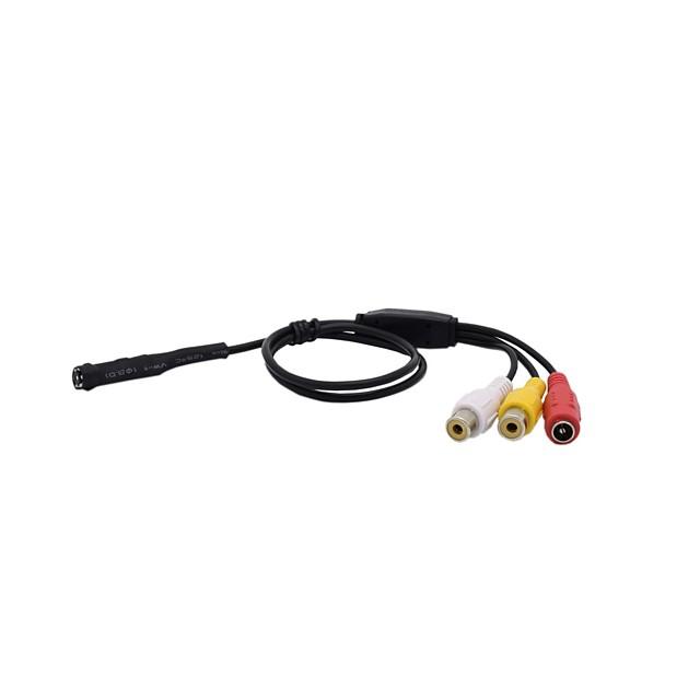 CMOS 600TVL Audio Infrared Night Vision Mini Camera CCTV Security Camera Pinhole Camera Size Φ7x24mm CMOS Endoscope Camera