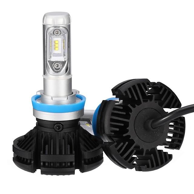 2pcs H11 Light Bulbs 25 W Integrated LED 2500 lm 6 LED Headlamp For 2018