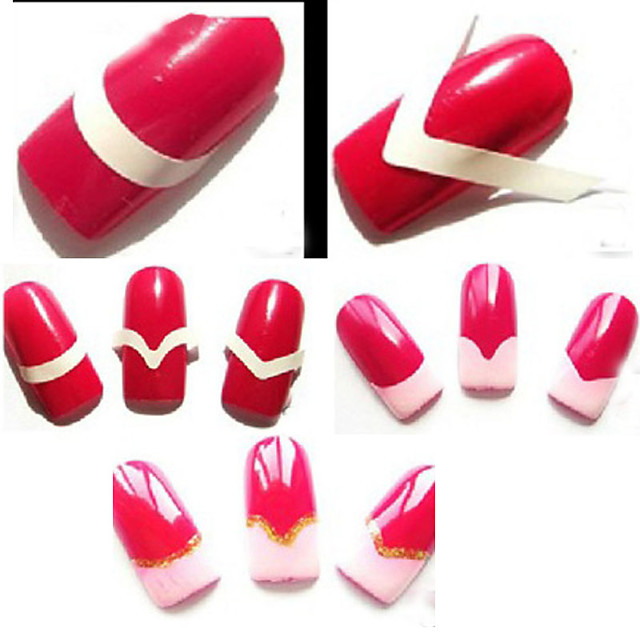 48pcs Nail Manicure Tools Japan and Korea Style Artistic Style Classic Daily Nail Art Tool Nail DIY Tools for Finger Nail