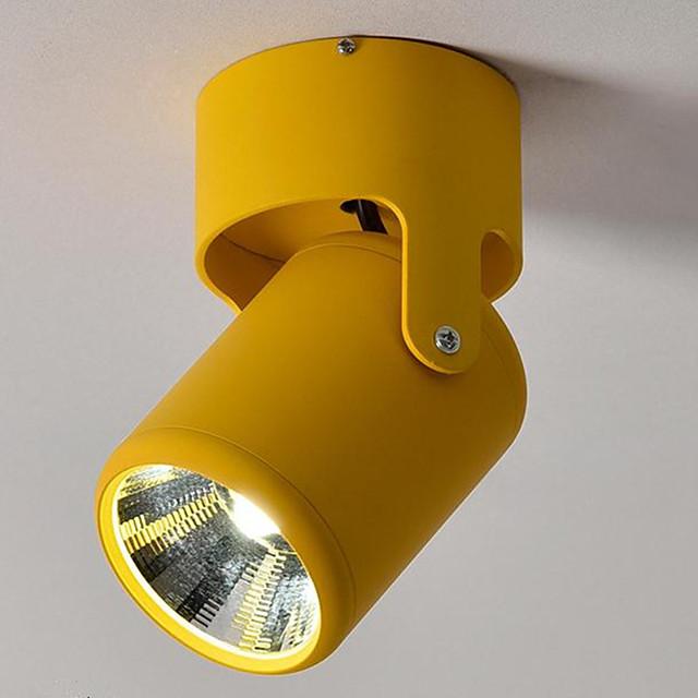 7-Light 8 cm Spot Light Metal Mini Painted Finishes LED Modern 220-240V