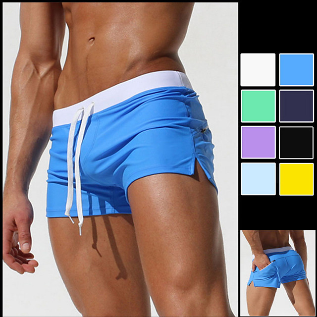 Ornamental Colorful Two Cats Mens Casual Shorts Surfing Quick Dry Board Beach Swimwear with Pockets
