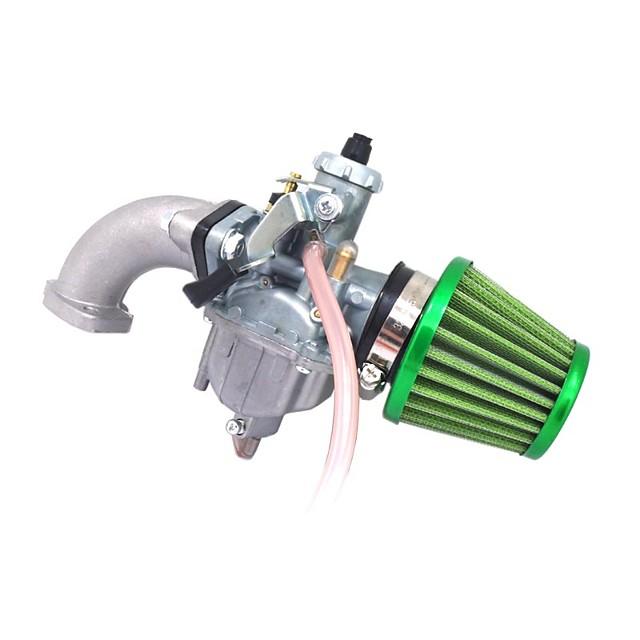 Mikuni Brand VM22 Carb Air Filter 26MM Manifold Intake Inlet Carburetor Gasket Set Air Filter Intake Pipe For 110cc 125cc 140cc Pit Dirt Bike