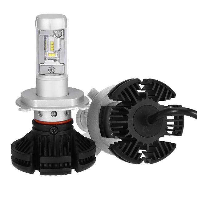 2pcs H4 Light Bulbs 25 W Integrated LED 2500 lm 10 LED Headlamp For 2018