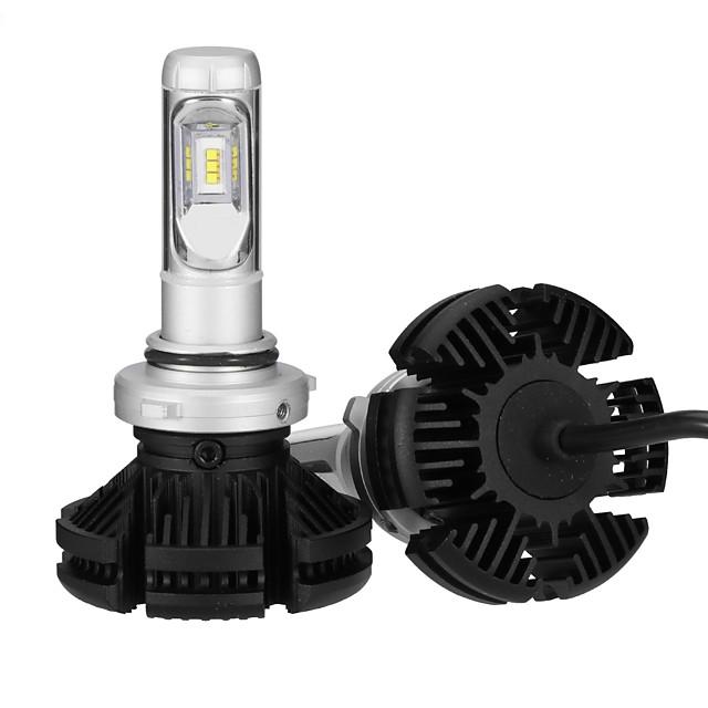 2pcs 9006 Light Bulbs 25 W Integrated LED 2500 lm 6 LED Headlamp For 2018