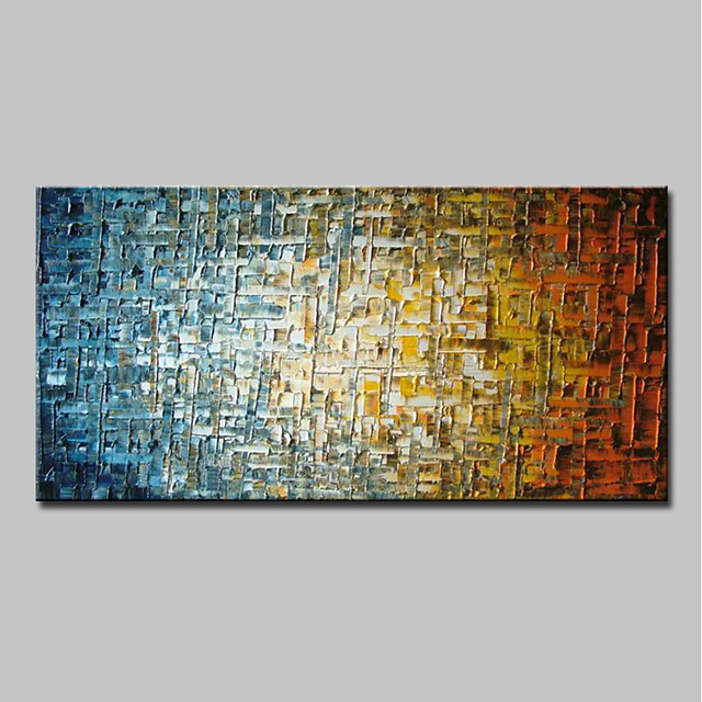 Oil Painting Hand Painted Abstract Modern Canvas Rolled Without Frame