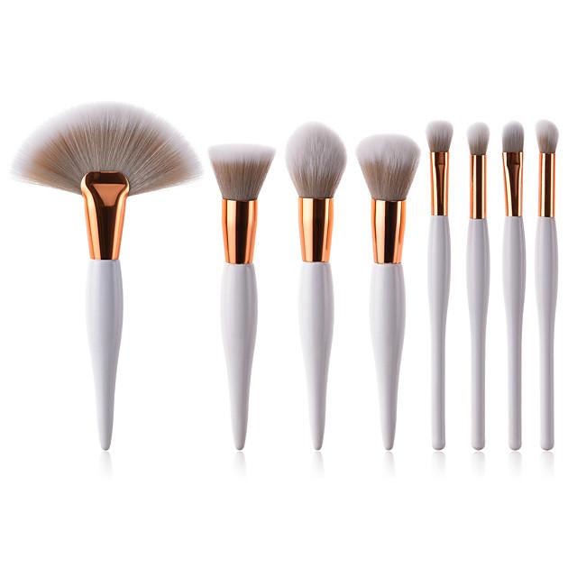 Professional Makeup Brushes Makeup Brush Set 8pcs Full Coverage Synthetic Hair Wooden / Bamboo for Eyeliner Brush Blush Brush Lip Brush Eyebrow Brush Eyeshadow Brush Concealer Brush Eyelash Brush