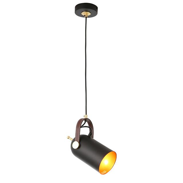 1-Light Northern Europe Modern Metal Shade Dining Room Mini Pendant Light Use 1 E26/E27 Bulbs