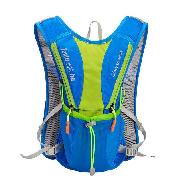 6 L Bike Hydration Pack & Water Bladder Waterproof Lightweight Wearable Bike Bag Nylon Bicycle Bag Cycle Bag Cycling Running Jogging Trail