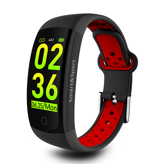Q6S Smart Watch BT 4.0 Fitness Tracker Support Notify & Count Steps Compatible SAMSUNG/SONY Android Phones & IPhone