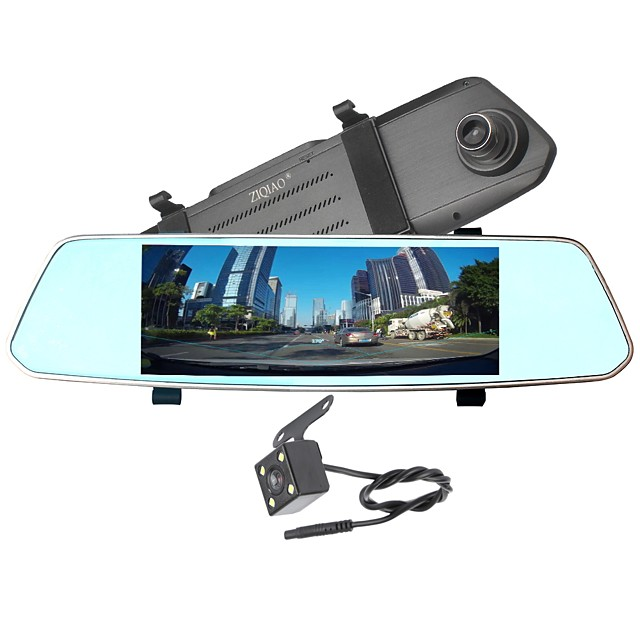 X700 720p / 1080p HD / Night Vision / Dual Lens Car DVR 170 Degree Wide Angle CMOS Sensor 7 inch IPS Dash Cam with Night Vision / G-Sensor / Parking Monitoring No Car Recorder / Loop recording