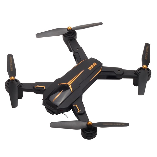 RC Drone VISUO XS812 RTF 4CH 6 Axis 2.4G With HD Camera 5.0MP 1080P RC Quadcopter One Key To Auto-Return / Headless Mode / Access Real-Time Footage RC Quadcopter / Remote Controller / Transmmitter