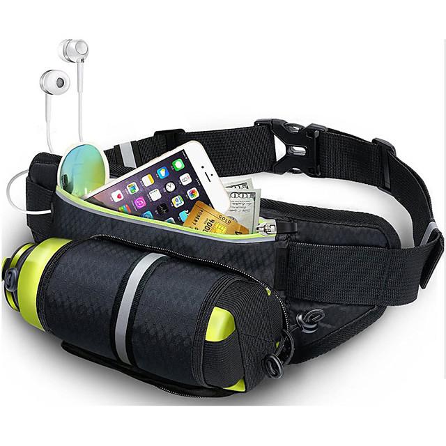 Running Belt Fanny Pack Waist Bag / Waist pack for Running Marathon Fishing Hiking Sports Bag Lightweight Breathability Wearable Nylon Running Bag Adults'