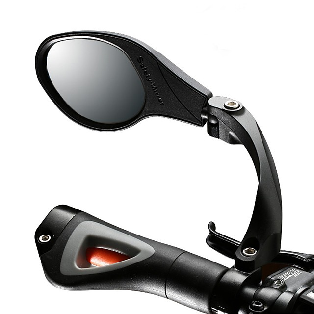 Rear View Mirror Handlebar Bike Rear View Mirror Adjustable Anti-Shake / Damping Wide Range Back Sight Reflector Angle Cycling Bicycle motorcycle Bike Aluminum Alloy Stainless steel Black+Sliver Blue
