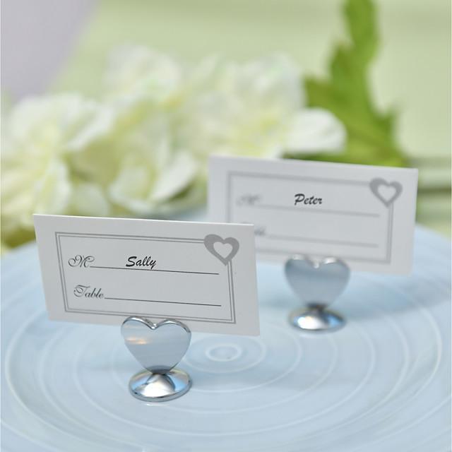 Net Zinc Alloy Wedding Card Holder Standing Style 4 pcs