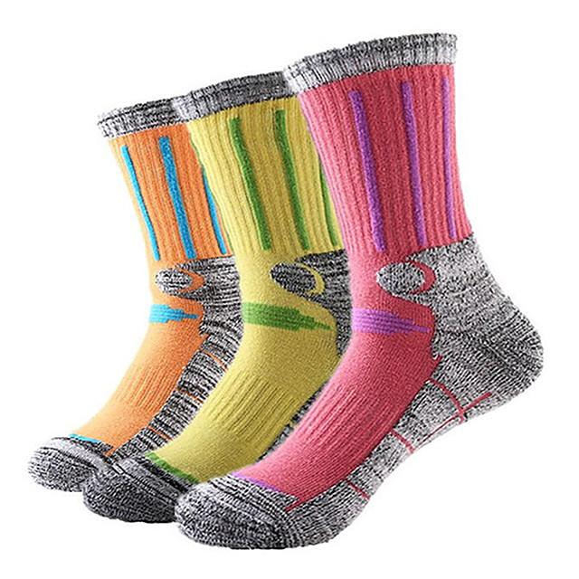 Ski Socks / Long Socks Athletic Sports Socks Women's Thermal Warm / Breathable / Wearable Snowboard Tactel / Coolmax® / Elastane Fashion Winter Sports Fall / Winter / Cotton / Stretchy / Athleisure