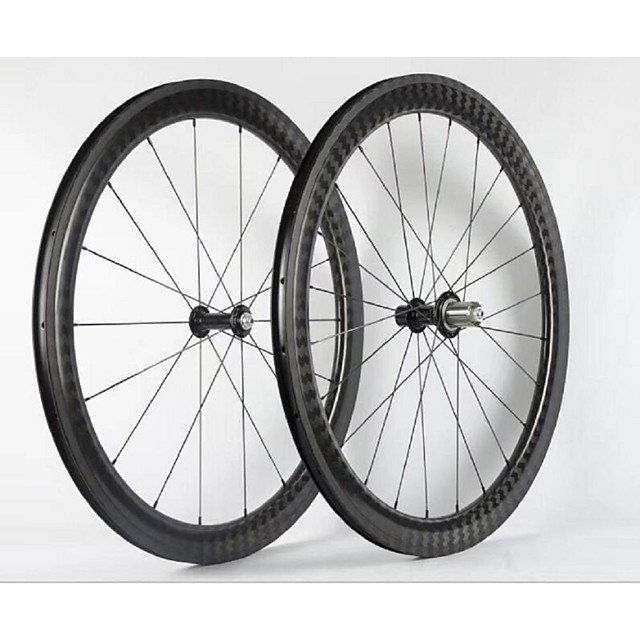 NEASTY 700CC Wheelsets Cycling 23 mm / 25 mm Road Bike Carbon Clincher 20/24 Spokes 50 mm