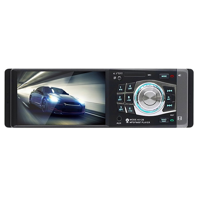 SWM 4012B 4.1 inch 1 DIN Other OS Car MP5 Player / Car MP4 Player / Car MP3 Player MP3 / Built-in Bluetooth / Steering Wheel Control for universal RCA / Other Support MPEG / MPG / RMVB MP3 / WMA / WAV