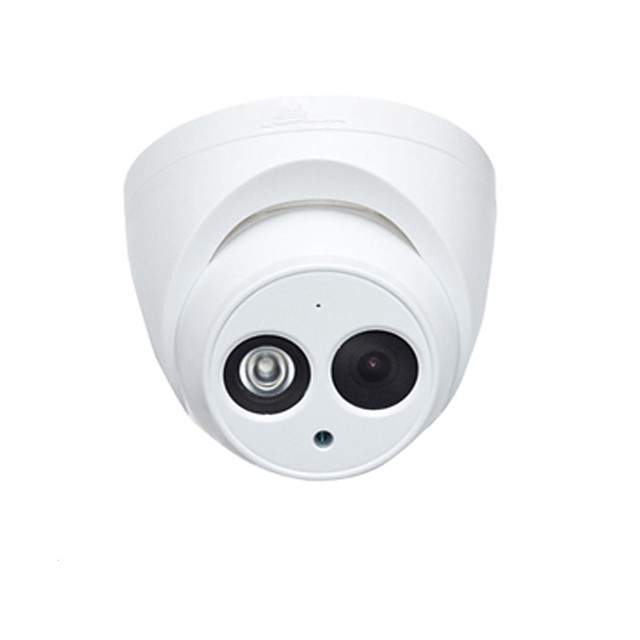 Dahua IPC-HDW4631C-A 6MP IP Camera PoE Dome Security Surveillance Camera 2.8mm Lens Built-in Mic Day and Night IR 30m H.265 IP67 Onvif English Firmware Night Vision
