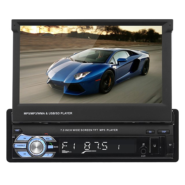 SWM 9601 7 inch 2 DIN Other Car MP5 Player Touch Screen / Built-in Bluetooth / SD / USB Support for universal RCA / Audio / AV out Support MPEG / AVI / MPG MP3 / WMA / WAV GIF / JPG / Stereo Radio