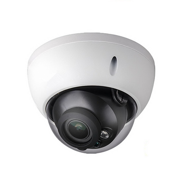 Dahua® 4MP HD Security POE IP Camera H2.65 2.8-12mm Varifocal Motorized Lens POE Security Surveillance 5X Optical Zoom SD Card Slot IPC-HDBW4433R-ZS Waterproof Day Night