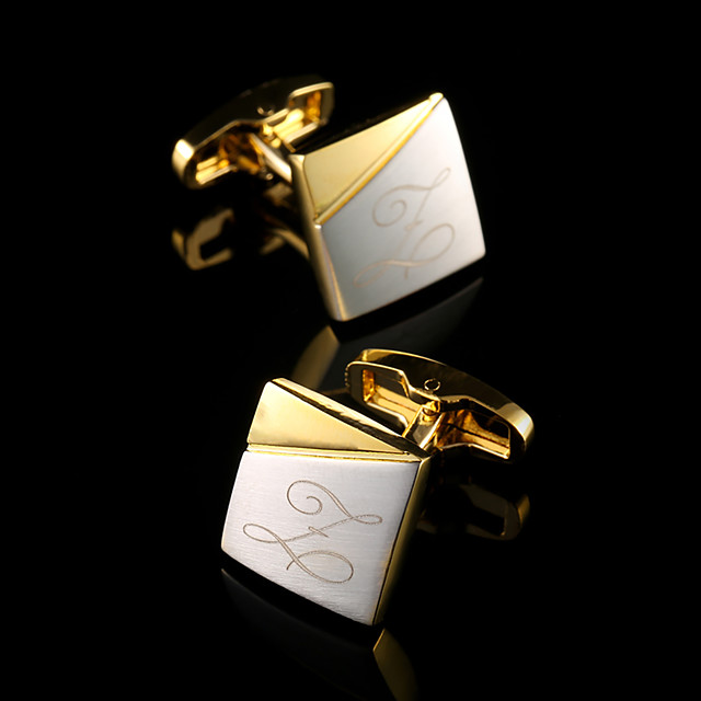 Personalized Copper Cufflinks Groom / Groomsman Wedding / Event / Party -