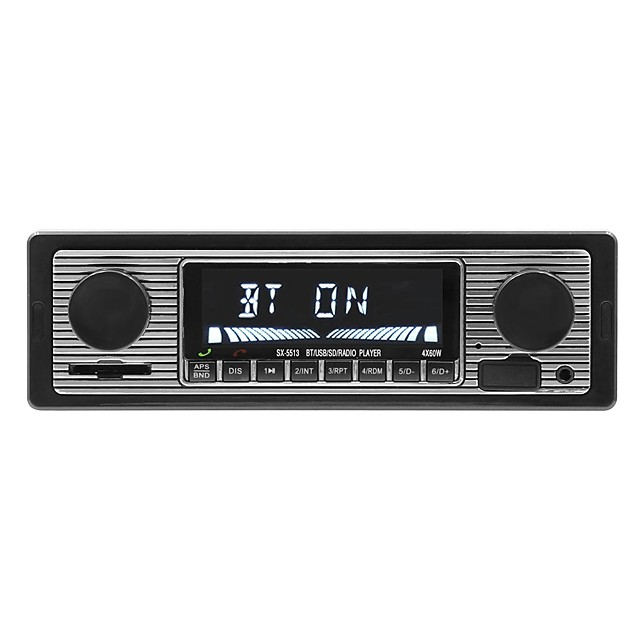 SWM SX-5513 ≤3 inch 1 DIN Other OS Car MP3 Player MP3 / Built-in Bluetooth / SD / USB Support for universal RCA Support Other MP3 / WMA / WAV JPEG / Stereo Radio