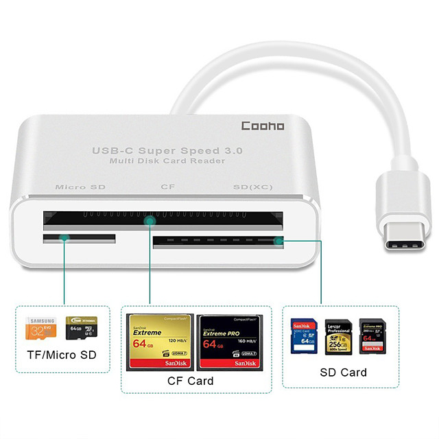 Alloy Silver USB Hub 7 cm