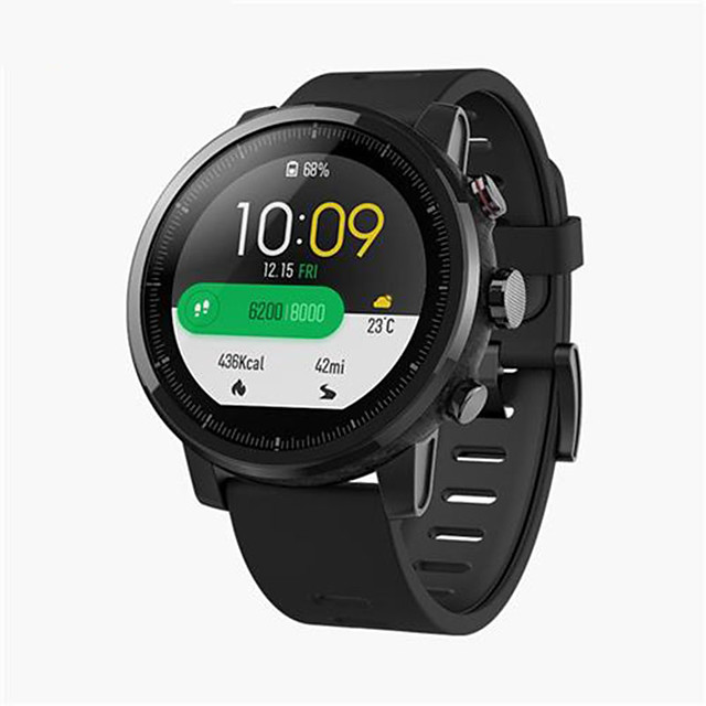 Huami Amazfit 2 Stratos Pace 2 Smart Watch Men GPS Xiaomi Watches PPG Heart Rate Monitor 5ATM Waterproof Global Version