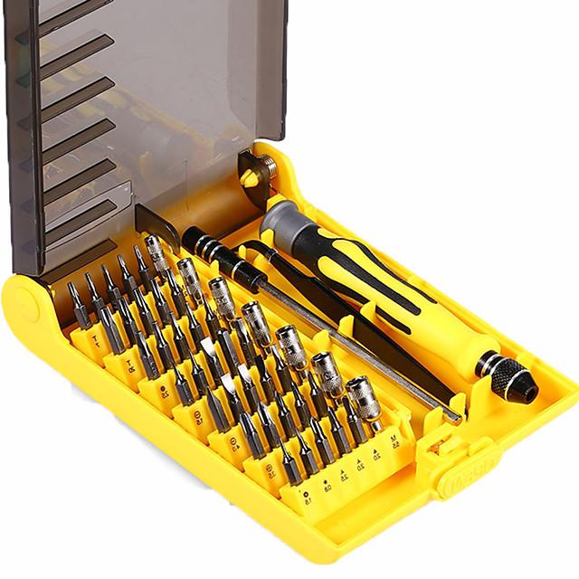 Professional Portable 45 in 1 Hardware Screwdriver Tools Precision Bit Fix Hand Tool Kit For Phone Laptop Household Repair