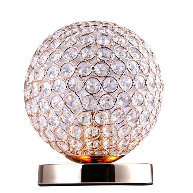 Lampada da tavolo / Lampada da scrivania Romantico / Creativo Contemporaneo moderno Per Salotto / Camera da letto Metallo 110-120V / 220-240V Oro / Argento