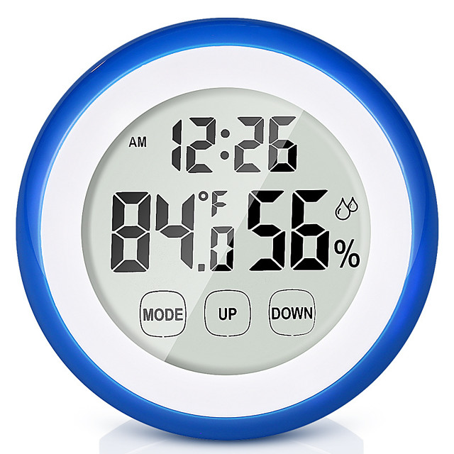 OEM YHZ-90568 Multi-function Indoor Thermometer 0-50 Deg.C Measuring temperature and humidity, with Sensor Digital LCD Display, LCD backlight display
