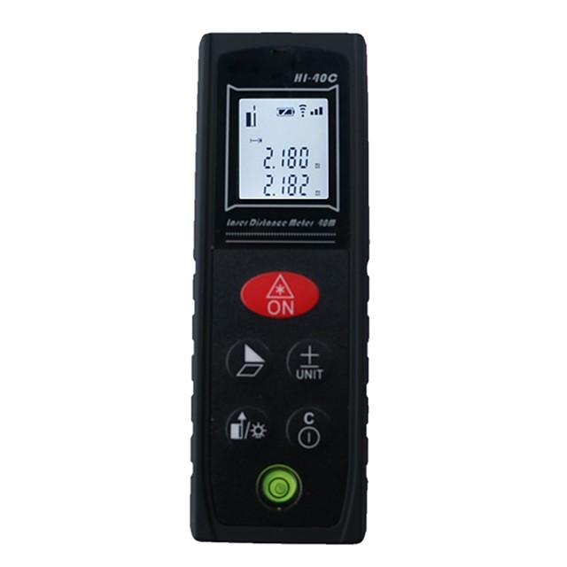 Mini Laser Distance Meter 40M 60M Laser Rangefinder Laser Tape Range Finder ruler Diastimeter Measure Roulette retial box